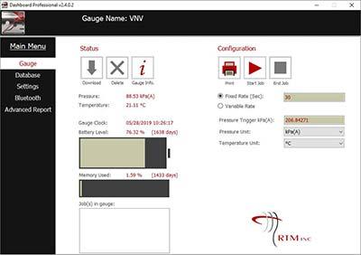 Dashboard Pro Gauge Software
