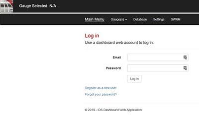 Dashboard Web Gauge Software